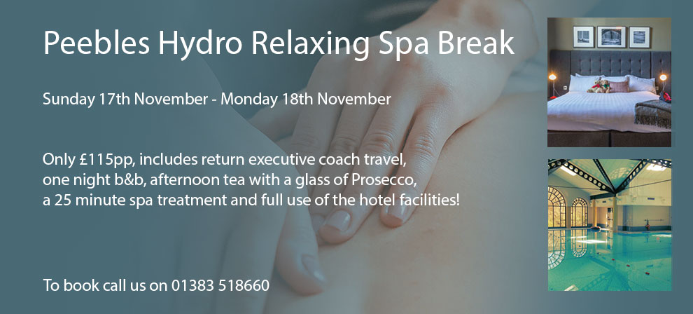 Peebles Hydro Spa Break